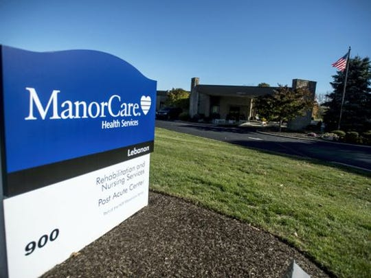 ManorCare Health Services - Lebanon had two falls involving actual harm since 2014, according to Pennsylvania Department of  Health Reports.