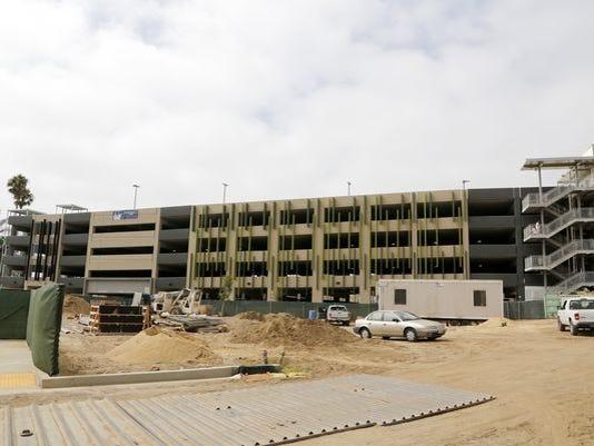 Ventura's parking structure