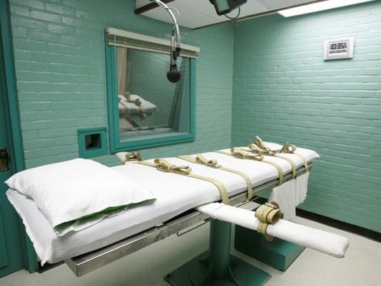 #stockphoto-The Texas death chamber