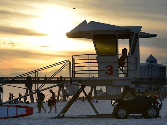 Santa Rosa County has altered the hours for its Navarre Beach lifeguards and is planning to add a new lifeguard tower and relocate two others.