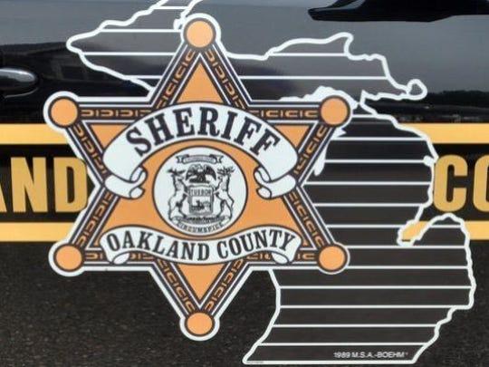 Oakland County Sheriff's Office logo.