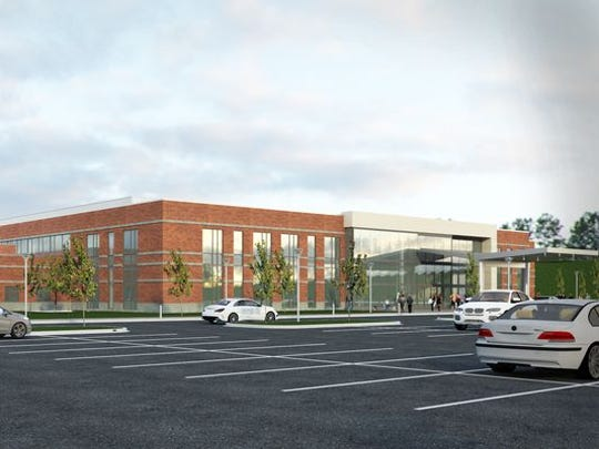 The $175 million health center is expected to open