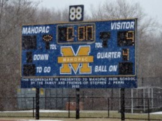 Mahopac High School will host the Section 1 football championship games on Nov. 4-5, 2016.