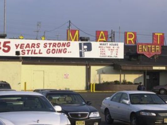 A May 2003 photo shows the Pennsauken Mart's exterior.