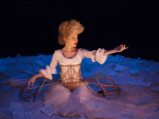 """Samantha Hofer portrays Nannerl Mozart, older sister of Wolfgang Amadeus Mozart and the title character in """"The Other Mozart."""""""