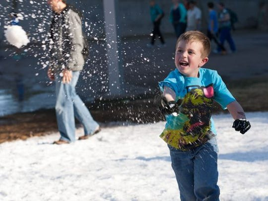 Have Snow Much Fun at the Phoenix Children's Museum.