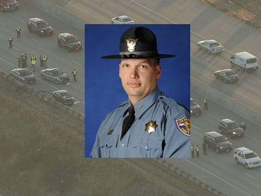 Trooper Cody Donahue, an 11 year veteran of the CSP, was killed in a crash Friday afternoon.