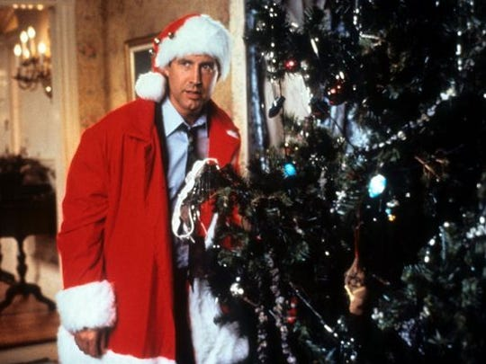 """Chevy Chase in """"National Lampoon's Christmas Vacation."""""""