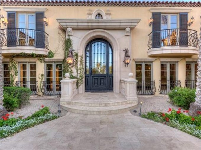 Luxury Homes Arizona Coyotes Player Buys 36m Scottsdale Mansion