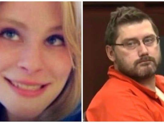 Jessica Heeringa, left, and Jeffrey Willis.