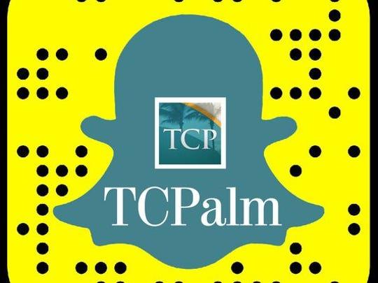 Follow us on Snapchat. Search TCPalmNews.