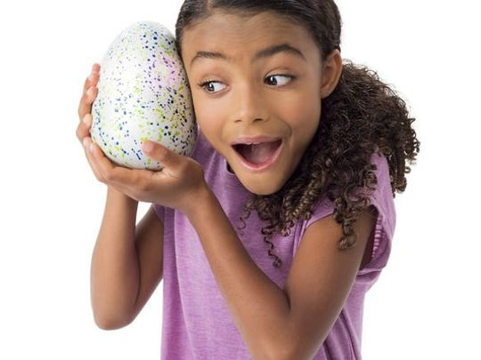 Hatchimals are the hottest toy of the holiday season. Interactive creatures come to life and hatch out of eggs.