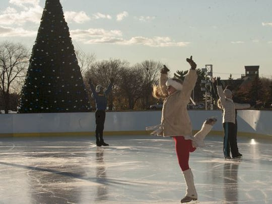 Tie two on - two skates, that is, and hit Cooper River Park's Winterfest.