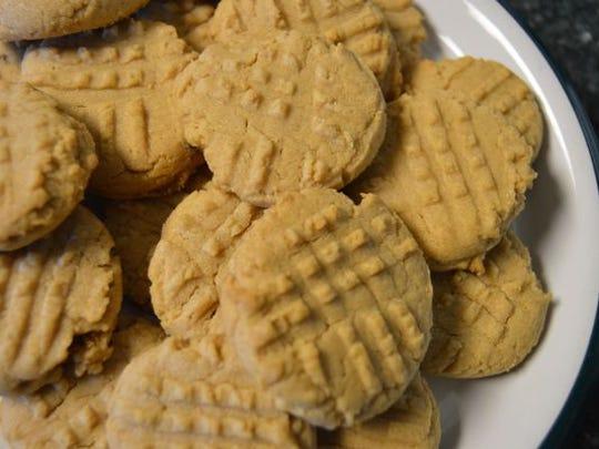 Peanut butter cookies.