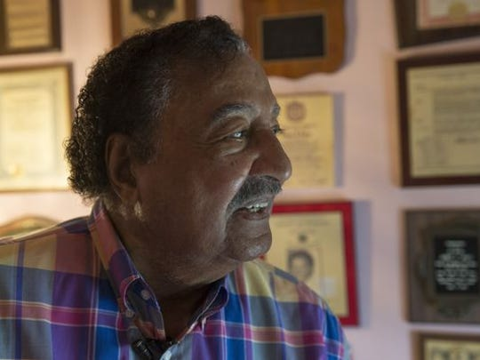 Neptune's Ermon Jones, who broke the color barrier for Neptune High School basketball in the 1940s and went on a career of activism locally.
