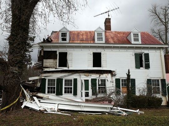 A fire on Feb. 25 destroyed the historic Pitney mansion