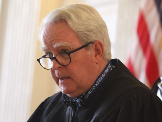 Superior Court Judge Paul Armstrong in Morristown in
