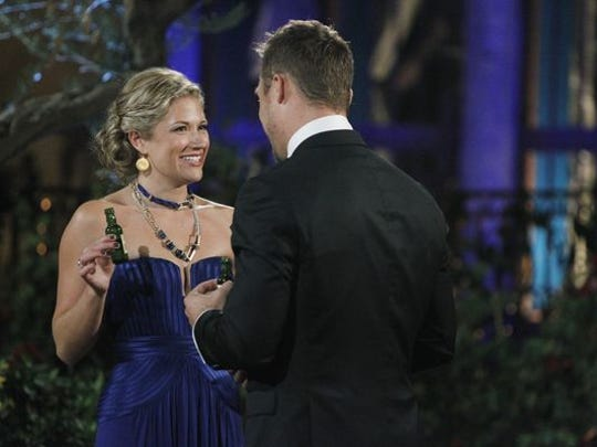 """Jordan Branch on the first night of """"The Bachelor,"""""""