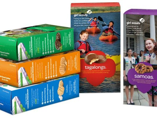 Girl Scout cookies.