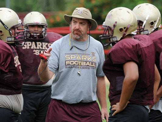 There will be an open house celebration for Sparks football coach Rob Kittrell on Saturday.