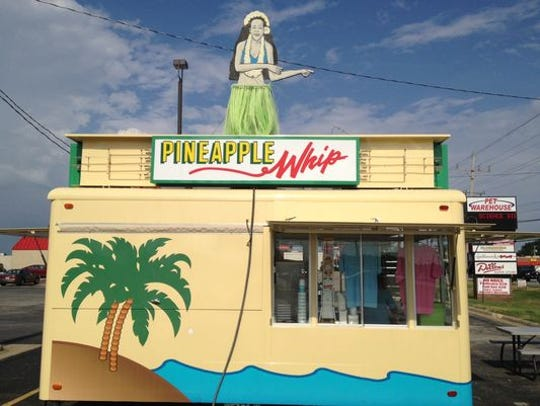 A Pineapple Whip stand.