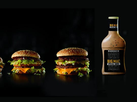 It's all about the sauce on McDonald's Big Mac.