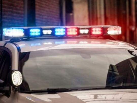 A man stabbed two people during a Hubbardston home invasion. Police are searching for the suspect.