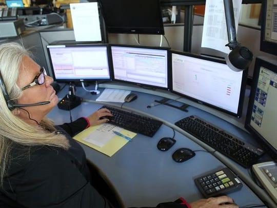 A 911 dispatcher.