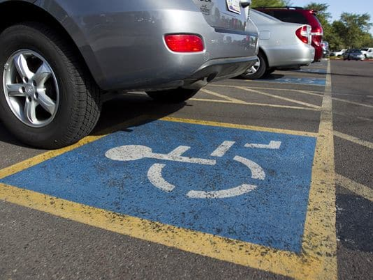 Disability parking