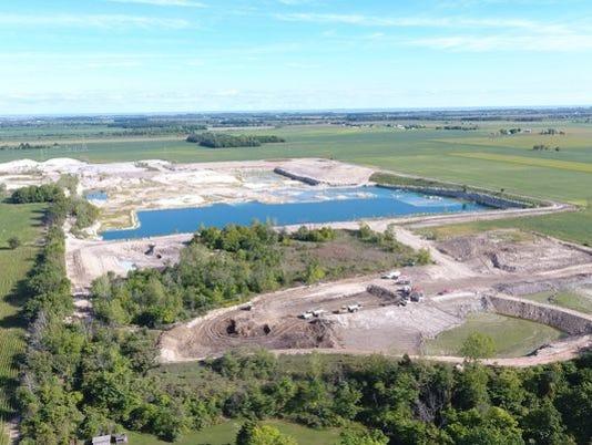 Judge issues restraining order on quarry dumping