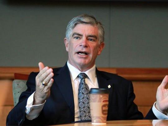 Former University of Delaware President Patrick Harker
