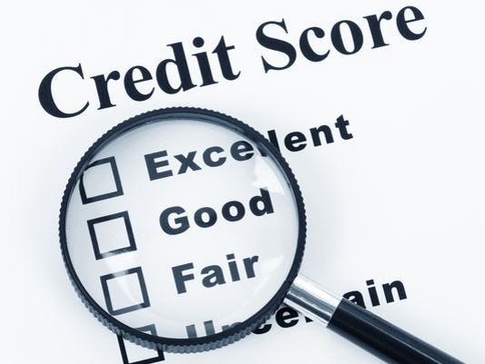 WalletHub credit scores