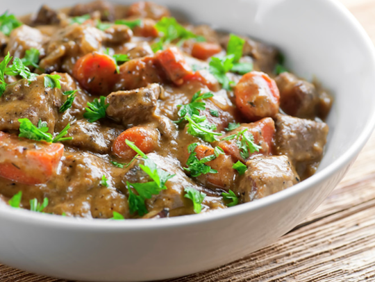 Beef stew from Framed Cooks.