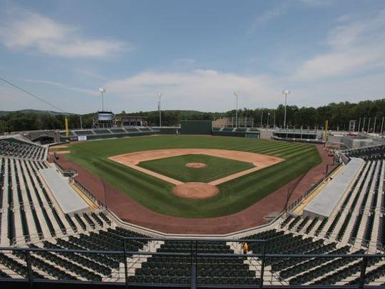 Thej financing of the Ramapo baseball stadium is the