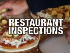 Health inspections for week ending April 28