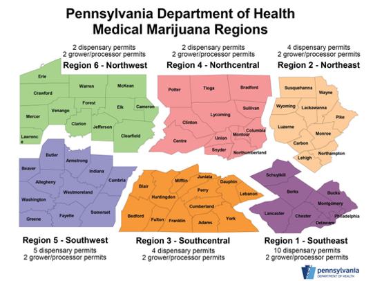 Pennsylvania Department of Health Medical Marijuana