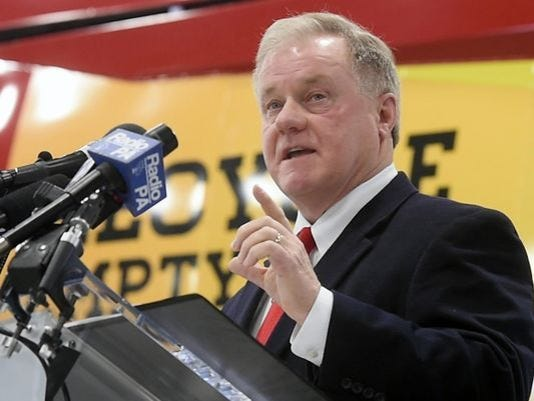 Pennsylvania gubernatorial candidate and state Sen. Scott Wagner,  R-Spring Garden Township