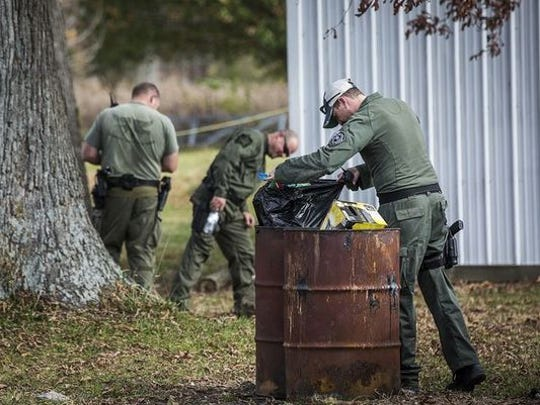 Authorities spent parts of three days conducting a massive search over 140 acres in northern Delaware County in November 2015.