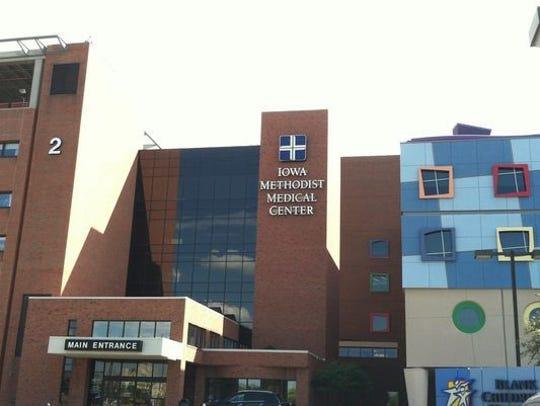 UnityPoint flagship hospital Iowa Methodist Medical