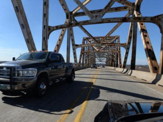 Work to rehabilitate the Jimmie Davis Bridge was in limbo for several years.