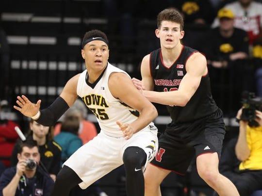 Former Nebraska basketball player Michael Jacobson is transferring to Iowa State.