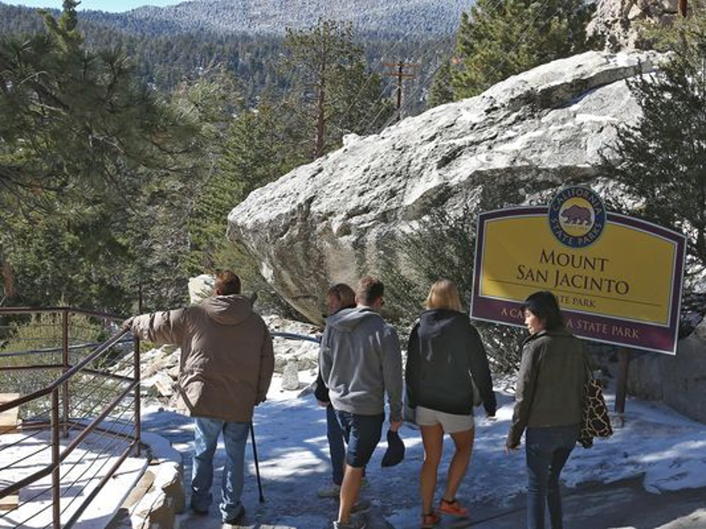 Visitors to the Coachella Valley enjoy taking the Palm Springs Aerial Tramway up to Mount San Jacinto State Park to escape the summer heat.