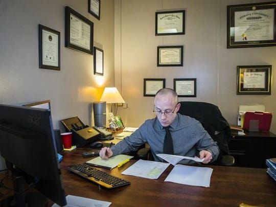 Chief Deputy Prosecutor Zach Craig has overseen drug prosecutions in Delaware County since Jan. 1.