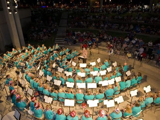 Glendale Summer Band hosts its annual weekly, free