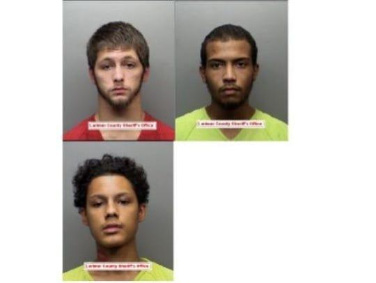 Clockwise from top left: Joshua Baker, Lawrence Greggs