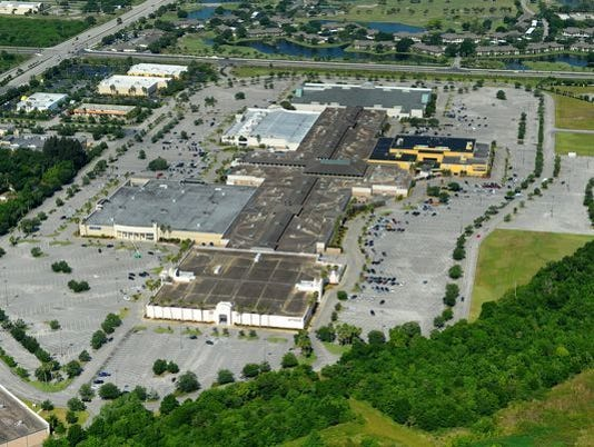 Indian River Mall aerial