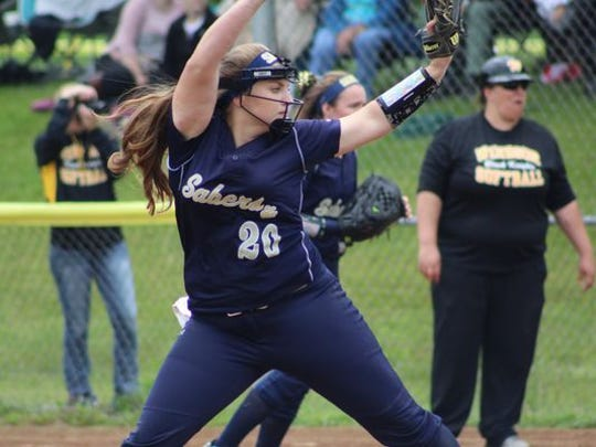 Susquehanna Valley's Sophia Pappas led the Sabers to