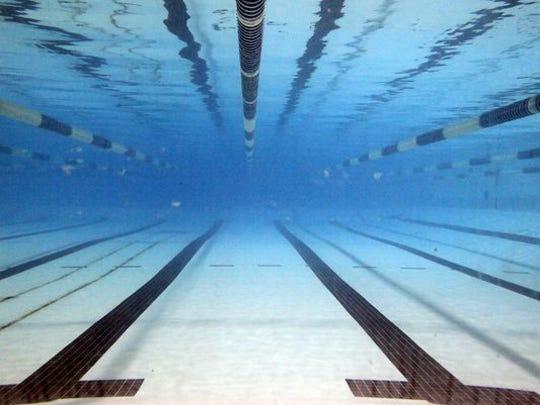 A swimming pool.