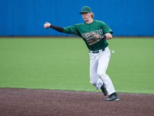 Reed Gamache finished with 172 hits and 101 RBI in