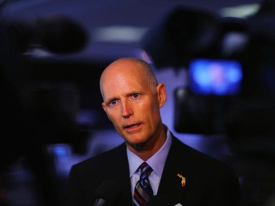 Gov. Rick Scott (REP) is a candidate in Florida's 2018 primary race for U.S. Senate.